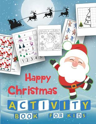Happy Christmas Activity Book for Kids