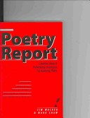 Poetry report