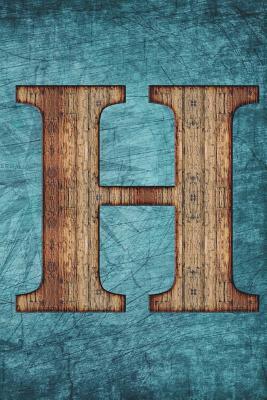 Monogrammed Notebook - H