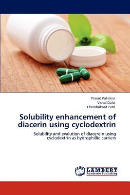 Solubility enhancement of diacerin using cyclodextrin