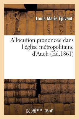 Allocution Prononcee...
