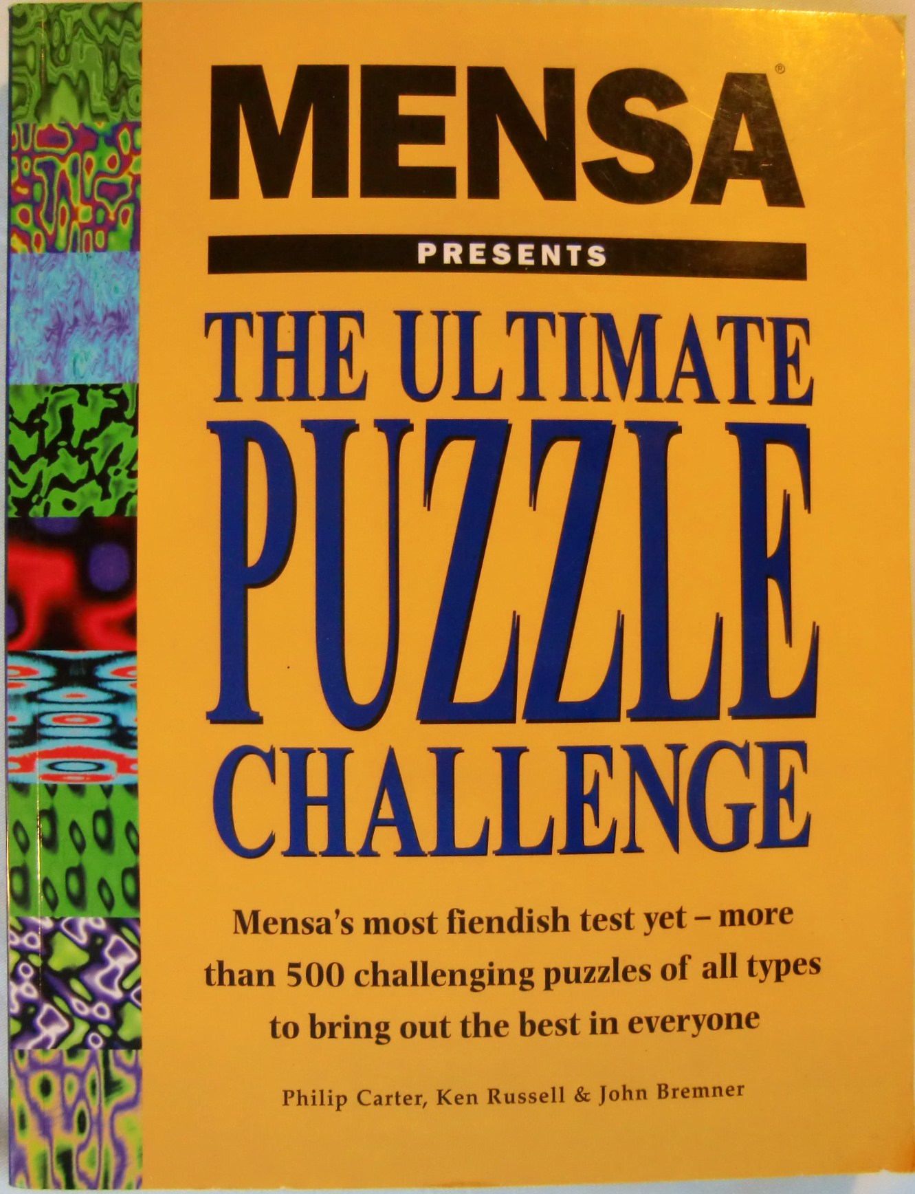 Mensa Presents The Ultimate Puzzle Challenge