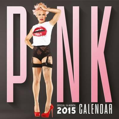 Official Pink 2015 Wall Calendar