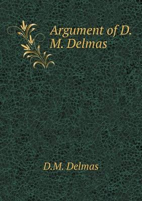 Argument of D.M. Delmas