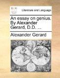 An Essay on Genius b...