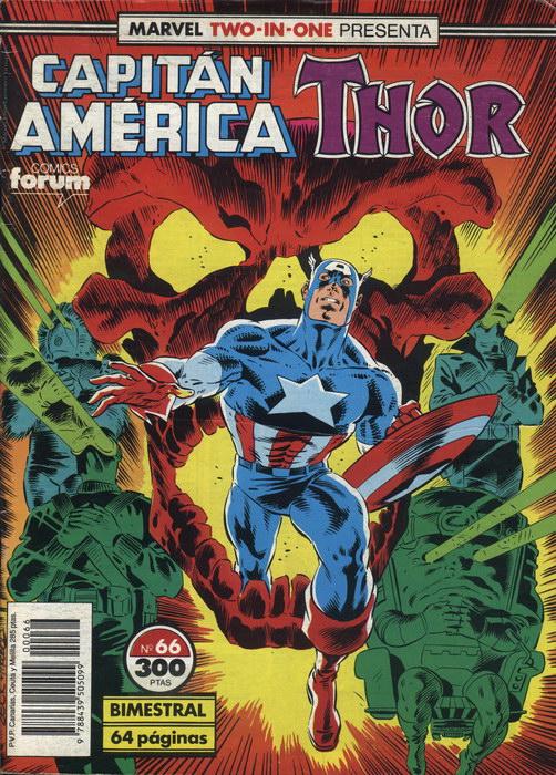 Marvel Two-In-One: Capitán América & Thor Vol.1 #66 (de 76)