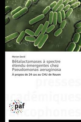 Betalactamases a Spectre Etendu Emergentes Chez Pseudomonas Aeruginosa