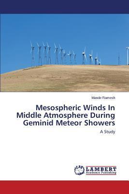 Mesospheric Winds In Middle Atmosphere During Geminid Meteor Showers