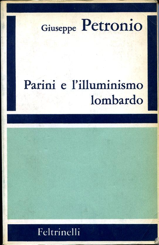 Parini e l'illuminismo lombardo