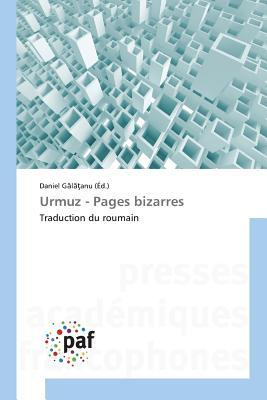 Urmuz - Pages Bizarres