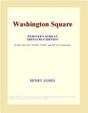 Washington Square (Webster's Korean Thesaurus Edition)