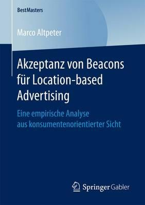 Akzeptanz Von Beacons Für Location-based Advertising