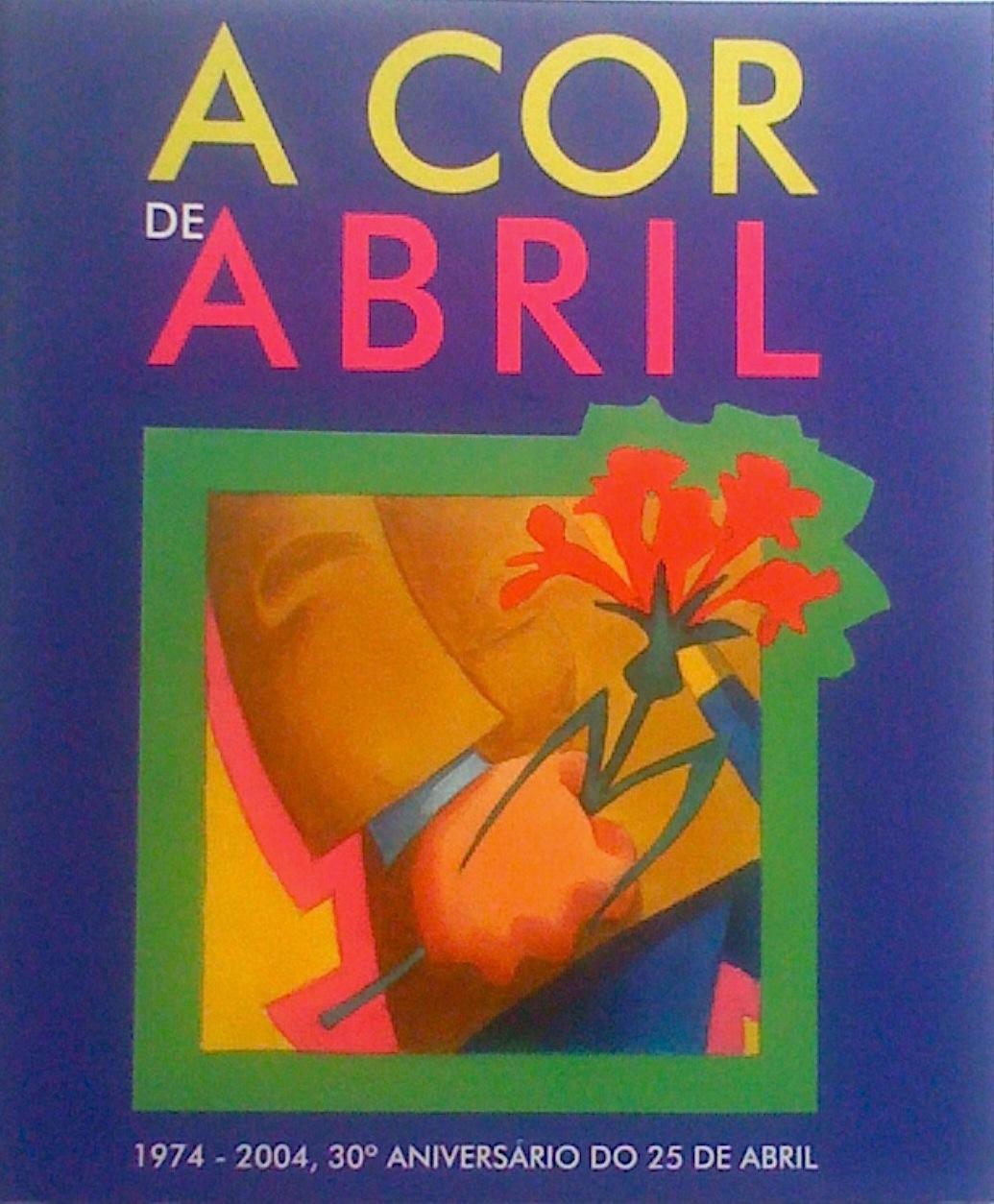 A cor de abril