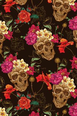 Floral Skull Journal