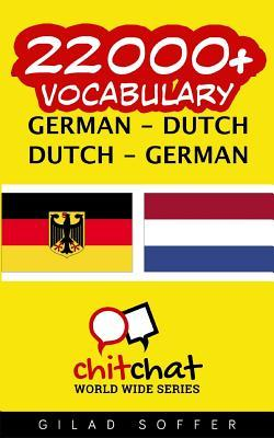 22000+ German Dutch Dutch-german Vocabulary