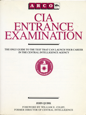 CIA Entrance Examination