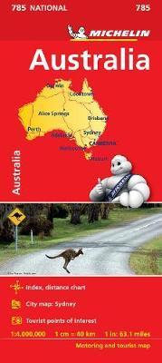 Australia NATIONAL Map