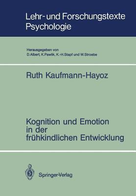 Kognition Und Emotion in Der Fruhkindlichen Entwicklung