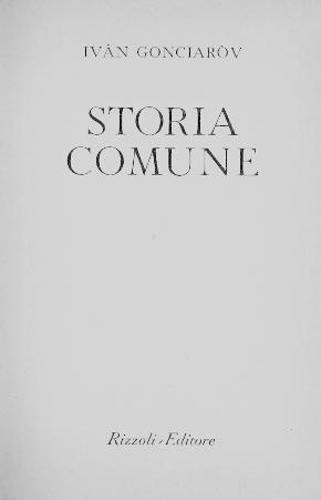 Storia comune