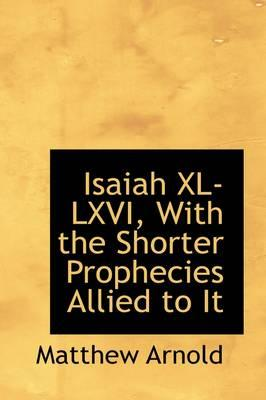 Isaiah Xl-lxvi, With...