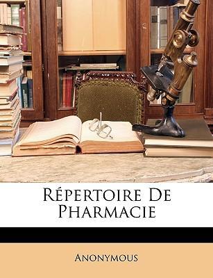 Rpertoire de Pharmacie