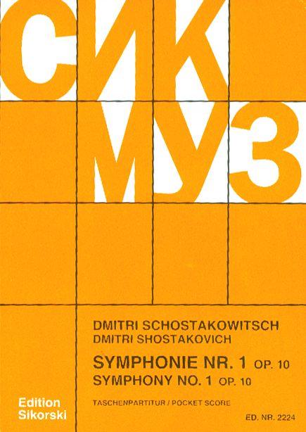 Symphonie nr. 1 op.10