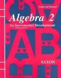 Solutions Manual for Algebra 2