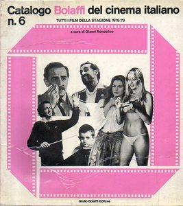 Catalogo Bolaffi del cinema italiano n. 6