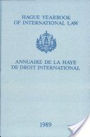 Hague Yearbook of International Law / Annuaire de La Haye de Droit International, Vol. 2 (1989)