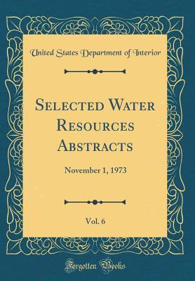 Selected Water Resources Abstracts, Vol. 6