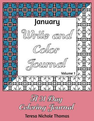 January Write and Color Journal - Volume 1