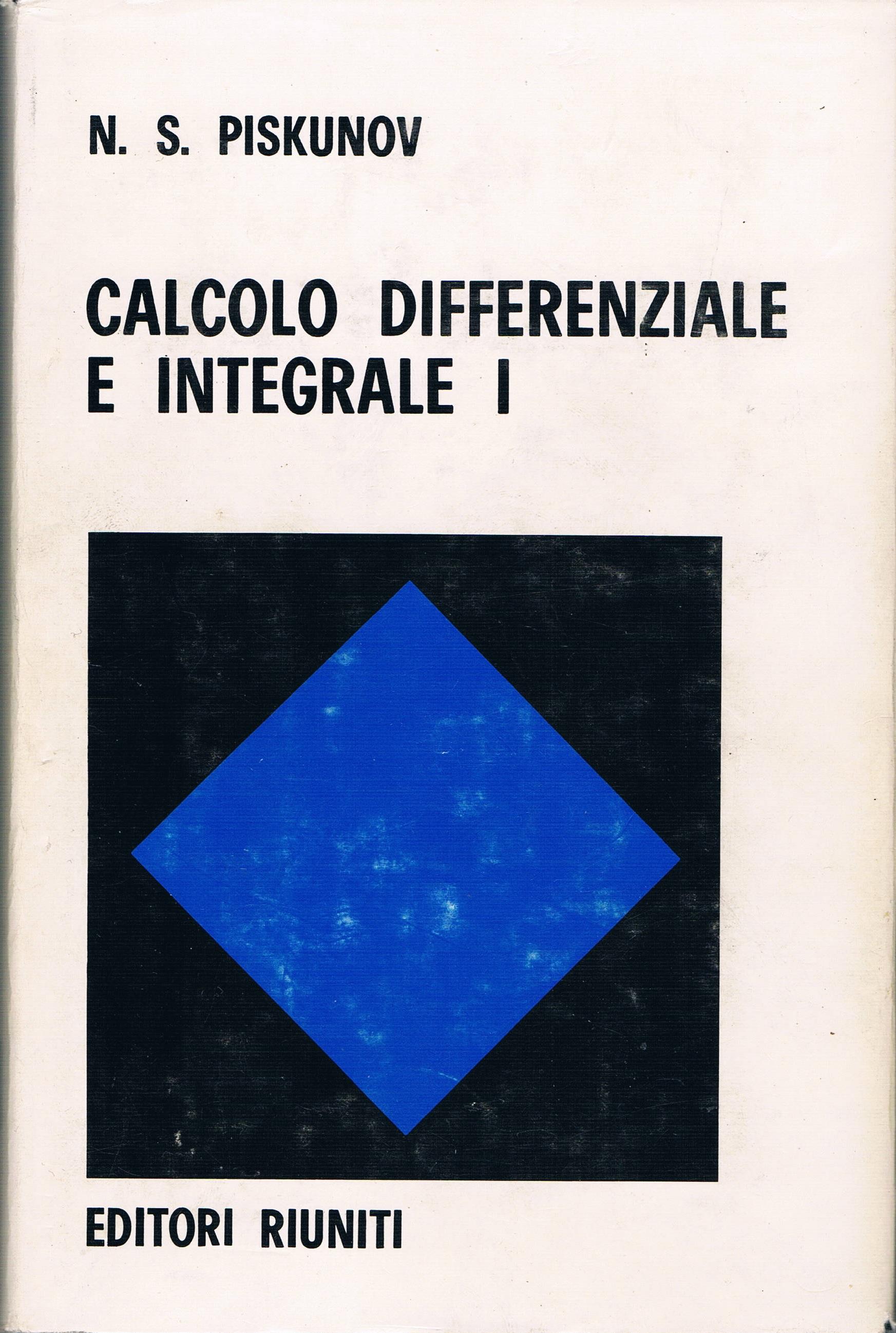 Calcolo differenziale e integrale I