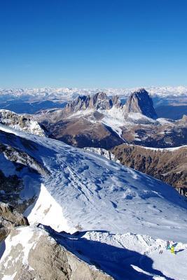 Marmolada Mountain i...