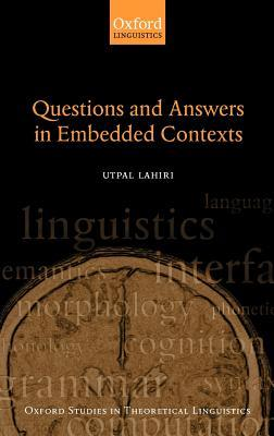 Questions and Answers in Embedded Contexts