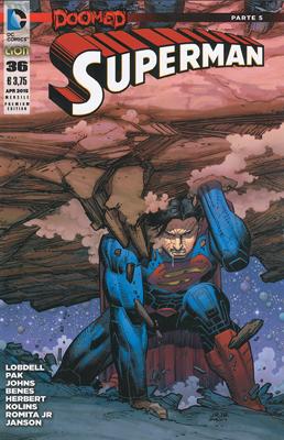 Superman #36 - Premium Cover