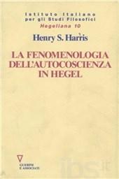 La fenomenologia dell'autocoscienza in Hegel