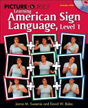 Picture Yourself Learning American Sign Language