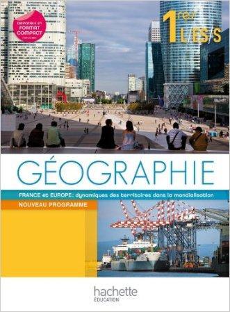 EsaBAC. Geographie 1res ES/L/S . Per le Scuole superiori. Con espansione online