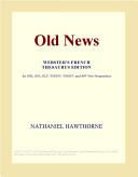 Old News Webster's Dutch Thesaurus Edition for ESL, EFL, ELP, TOEFL, TOEIC, and AP Test Preparation