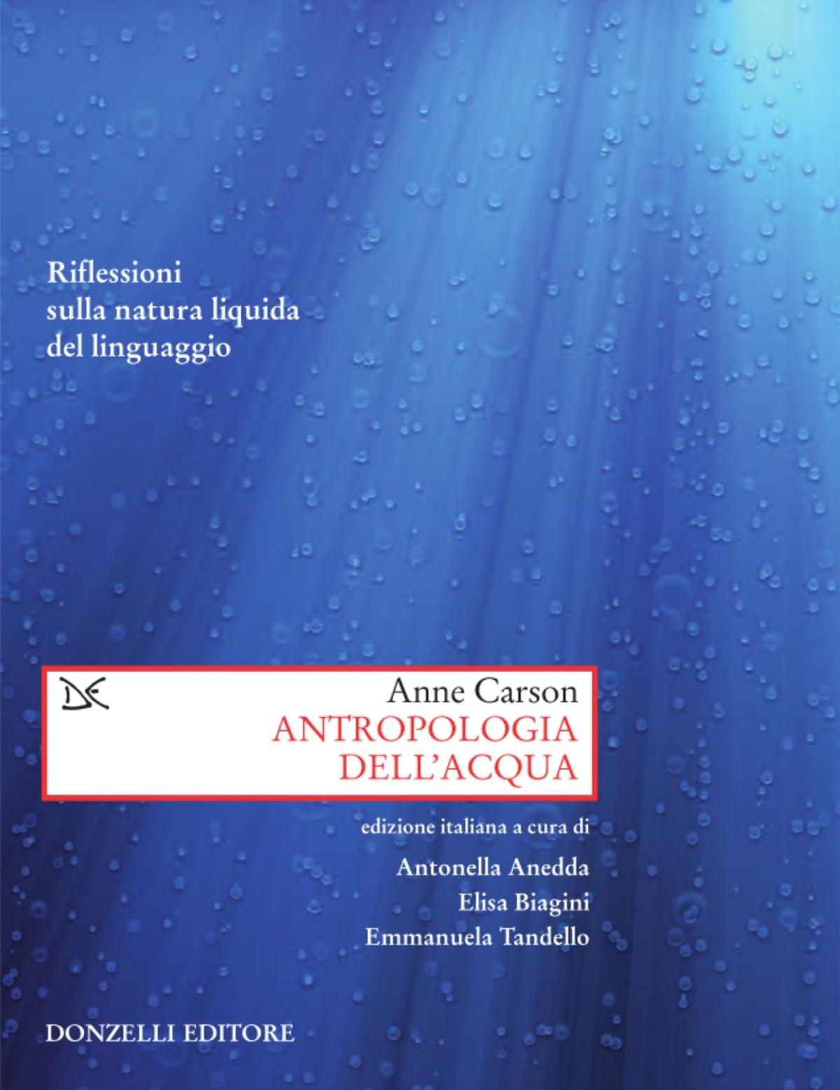 Antropologia dell'acqua