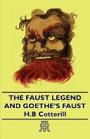 The Faust Legend and...