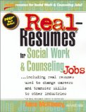 Real Resumes for Social Work and Counseling Jobs