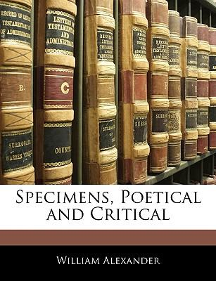 Specimens, Poetical and Critical
