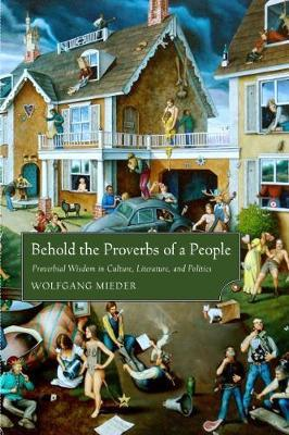 Behold the Proverbs of a People