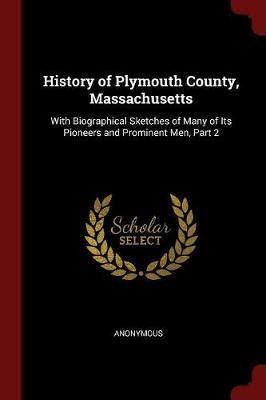 History of Plymouth County, Massachusetts