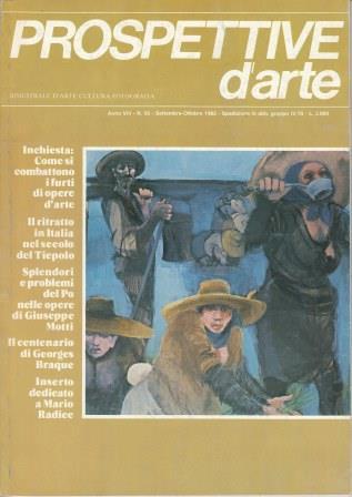 Prospettive d'arte - Anno VIII - n. 56, settembre-ottobre 1982