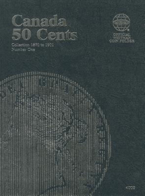 Canada 50 Cent Collection 1870 to 1901 Coin Folder