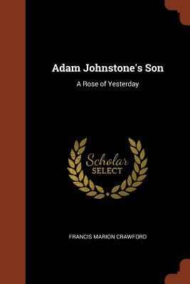 Adam Johnstone's Son
