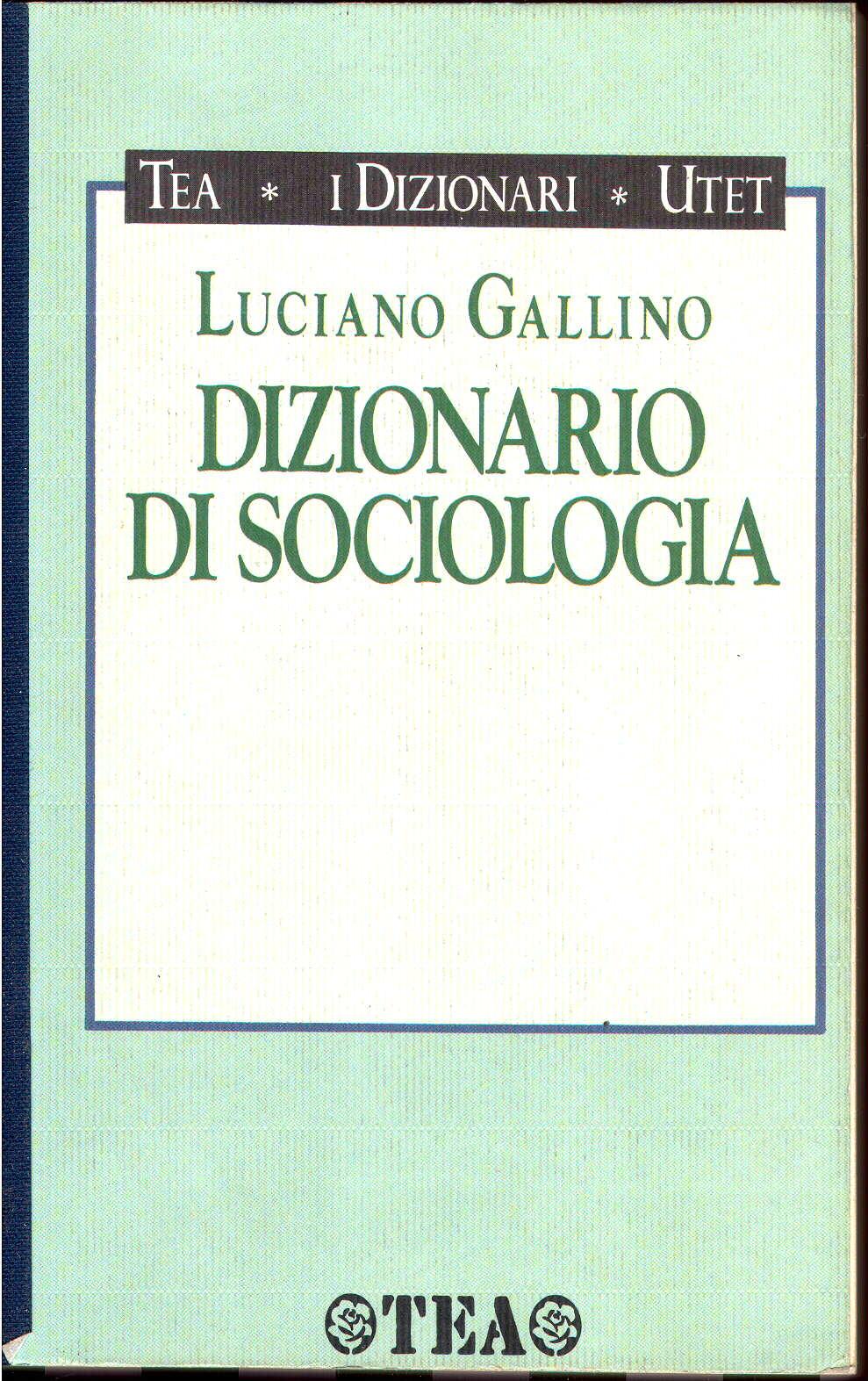 Dizionario di sociol...