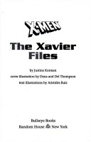The Xavier files